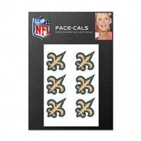 New Orleans Saints Tattoo Face Cals