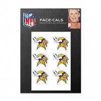 Minnesota Vikings Tattoo Face Cals