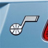 "NBA - Utah Jazz Chrome Emblem 2""x3.2"""