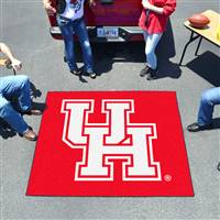 "Houston Cougars Tailgater Rug 60""x72"""