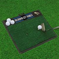 "NBA - Oklahoma City Thunder Golf Hitting Mat 20"" x 17"""