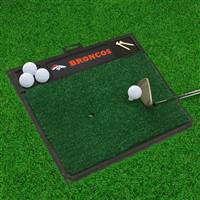 "NFL - Denver Broncos Golf Hitting Mat 20"" x 17"""