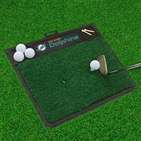 "NFL - Miami Dolphins Golf Hitting Mat 20"" x 17"""