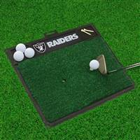 "NFL - Las Vegas Raiders Golf Hitting Mat 20"" x 17"""