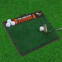 "NHL - Philadelphia Flyers Golf Hitting Mat 20"" x 17"""