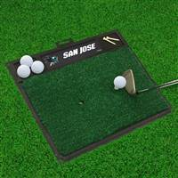 "NHL - San Jose Sharks Golf Hitting Mat 20"" x 17"""