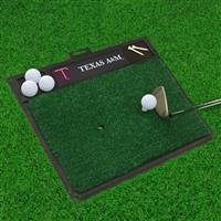 "Texas A&M University Golf Hitting Mat 20"" x 17"""