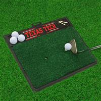 "Texas Tech University Golf Hitting Mat 20"" x 17"""