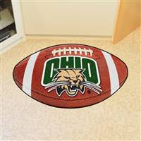 "Ohio University Football Mat 20.5""x32.5"""
