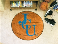 "John Carroll University Basketball Rug, 29"" Diameter"