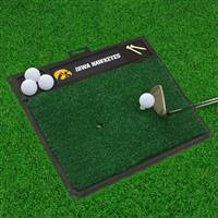 "University of Iowa Golf Hitting Mat 20"" x 17"""
