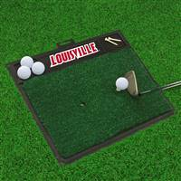 "University of Louisville Golf Hitting Mat 20"" x 17"""