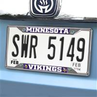 "NFL - Minnesota Vikings License Plate Frame 6.25""x12.25"""
