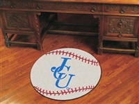 "John Carroll University Baseball Rug, 29"" Diameter"