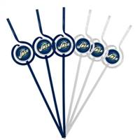 Utah Jazz Team Sipper Straws