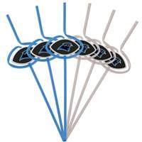 Carolina Panthers Team Sipper Straws