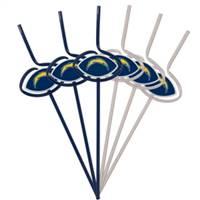 San Diego Chargers Team Sipper Straws