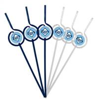 Tampa Bay Rays Team Sipper Straws