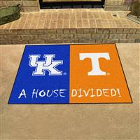 "House Divided - Kentucky / Tennessee House Divided Mat 33.75""x42.5"""