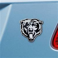 "NFL - Chicago Bears Chrome Emblem 3""x3.2"""