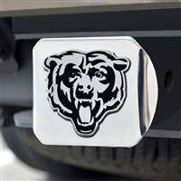 "NFL - Chicago Bears Chrome Hitch - Chrome3.4""x4"""
