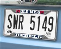 "University of Mississippi (Ole Miss) License Plate Frame 6.25""x12.25"""
