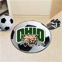 "Ohio University Soccer Ball Mat 27"" diameter"