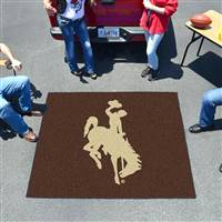 "Wyoming Cowboys Tailgater Rug 60""x72"""