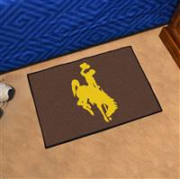 "University of Wyoming Starter Mat 19""x30"""