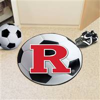 "Rutgers University Soccer Ball Mat 27"" diameter"