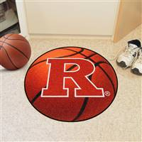 "Rutgers University Basketball Mat 27"" diameter"