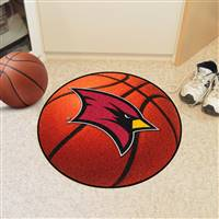 "Saginaw Valley State University Basketball Mat 27"" diameter"