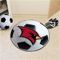 "Saginaw Valley State University Soccer Ball Mat 27"" diameter"