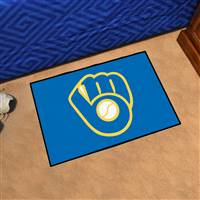 "Milwaukee Brewers Starter Mat 19""x30"""