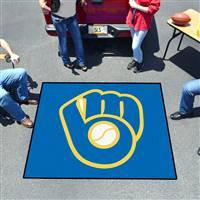 "Milwaukee Brewers Tailgater Mat 59.5""x71"""