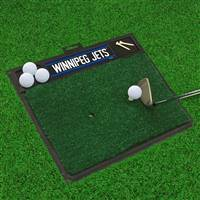 "NHL - Winnipeg Jets Golf Hitting Mat 36"" x 22.6"""