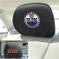 "NHL - Edmonton Oilers Head Rest Cover 10""x13"""
