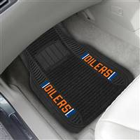 "NHL - Edmonton Oilers 2-pc Deluxe Car Mat Set 21""x27"""