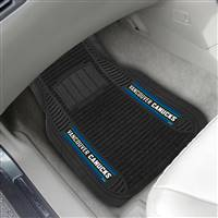 "NHL - Vancouver Canucks 2-pc Deluxe Car Mat Set 21""x27"""