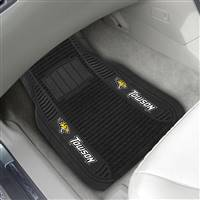 "Towson University 2-pc Deluxe Car Mat Set 21""x27"""