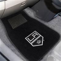 "NHL - Los Angeles Kings 2-pc Embroidered Car Mat Set 17""x25.5"""