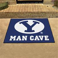 "Brigham Young University Man Cave All-Star 33.75""x42.5"""