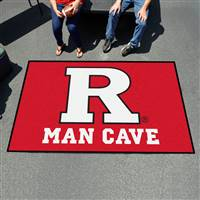 "Rutgers University Man Cave UltiMat 59.5""x94.5"""