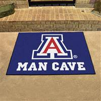 "University of Arizona Man Cave All-Star 33.75""x42.5"""