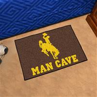 "University of Wyoming Man Cave Starter 19""x30"""