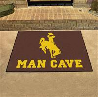 "University of Wyoming Man Cave All-Star 33.75""x42.5"""