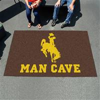 "University of Wyoming Man Cave UltiMat 59.5""x94.5"""