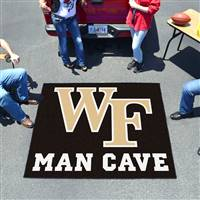 "Wake Forest University Man Cave Tailgater 59.5""x71"""