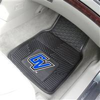 "Grand Valley State University 2-pc Vinyl Car Mat Set 17""x27"""