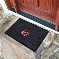 "Saginaw Valley State University Medallion Door Mat 19.5""x31.25"""